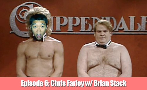 EPISODE 6: Chris Farley with CONAN Writer Brian Stack CLICK THE PICTURE TO LISTEN TO THE PODCAST CLICK HERE TO LISTEN IN iTUNES Tim Chang gets a crash course on the legendary comedian Chris Farley with the help of the comedian and CONAN writer Brian Stack. Brian and Chris performed together in college and remained friends as they both climbed the comedy ranks in Chicago and NYC. Brian talks about what made Chris such a special performer and an extraordinary person. Hopefully Tim learns something along the way.   Email ideas, comments and criticisms to TimChangEDU@gmail.com. If you like the show, please tell your friends and give us a nice rating and/or review in iTunes!