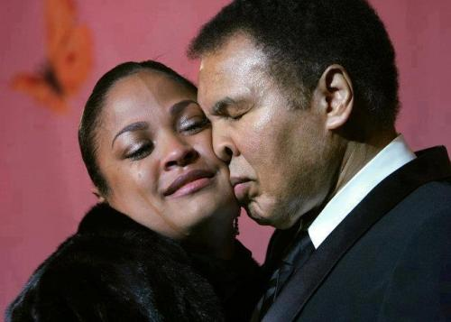 "iamladyk:  The following incident took place when Muhammad Ali's daughters arrived at his home wearing clothes that were quite revealing. Here is the story as told by one of his daughters:When we finally arrived, the chauffeur escorted my younger sister, Laila, and me up to my father's suite. As usual, he was hiding behind the door waiting to scare us. We exchanged many hugs and kisses as we could possibly give in one day. My father took a good look at us. Then he sat me down on his lap and said something that I will never forget. He looked me straight in the eyes and said, ""Hana, everything that God made valuable in the world is covered and hard to get to. Where do you find diamonds? Deep down in the ground, covered and protected. Where do you find pearls? Deep down at the bottom of the ocean, covered up and protected in a beautiful shell. Where do you find gold? Way down in the mine, covered over with layers and layers of rock. You've got to work hard to get to them.""He looked at me with serious eyes. ""Your body is sacred. You're far more precious than diamonds and pearls, and you should be covered too.""  Source: Taken from the book: More Than A Hero: Muhammad Ali's Life Lessons Through His Daughter's Eyes."