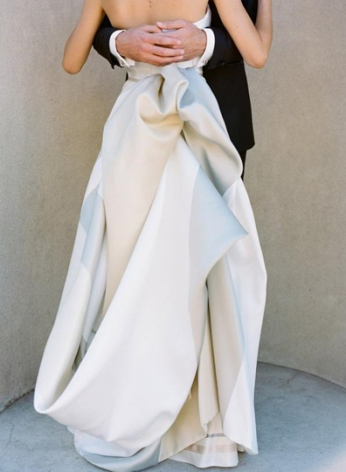 dustjacketattic:  carolina herrera gown | photo josh gruetzmacher