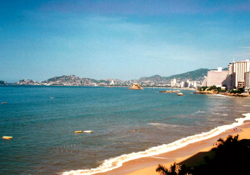 "THRILLING THURSDAY: One of the most thrilling places I've been to is Acapulco.  Several movies have been made about Acapulco and ""Fun in Acapulco"" was one of them.  In this 1963 movie, Mike Windgren sings…  ""You can't say no in Acapulco.  Where romance blooms, and love is in the air.  So kiss me tender, love me true.  Darling feel this magic too.  Don't say no, you can't say no in Acapulco.  Don't say no, you can't say no in Acapulco."" So, for those of you who are diehard romantics make sure you go to Acapulco where your significant other can't say no.   Photo by Anna M. Poore"