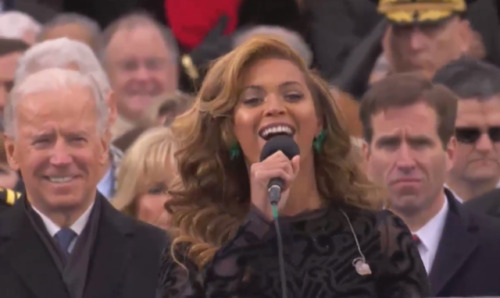 If you missed Beyonce's stunning performance of The National Anthem (no not a Lana Del Rey cover you jokesters)  you can watch it right HERE