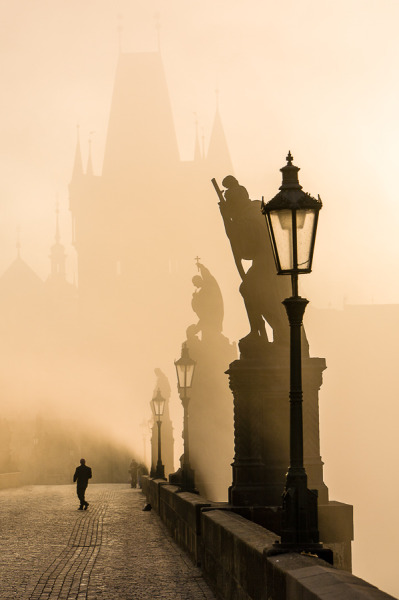 vacilandoelmundo:  Charles Bridge, Prague, Czech Republic