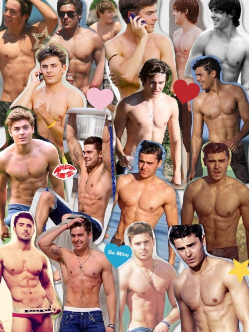 sabrinanirbas:  Have some shirtless Efron on your dash.
