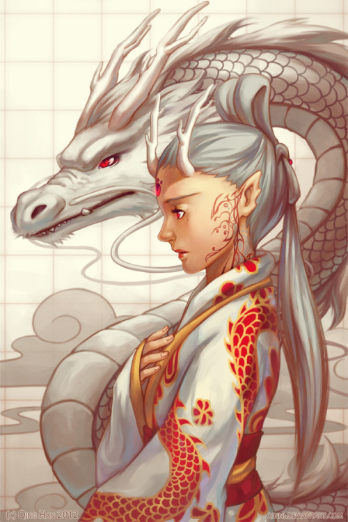 fuckyeahdragons:  Dragon by =Qinni