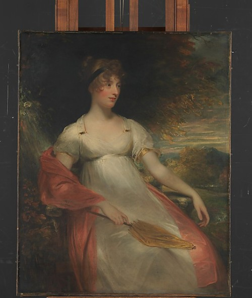 centuriespast:  Portrait of a Woman circa 1805 Sir William Beechey  (British, Burford 1753–1839 Hampstead) The British Museum