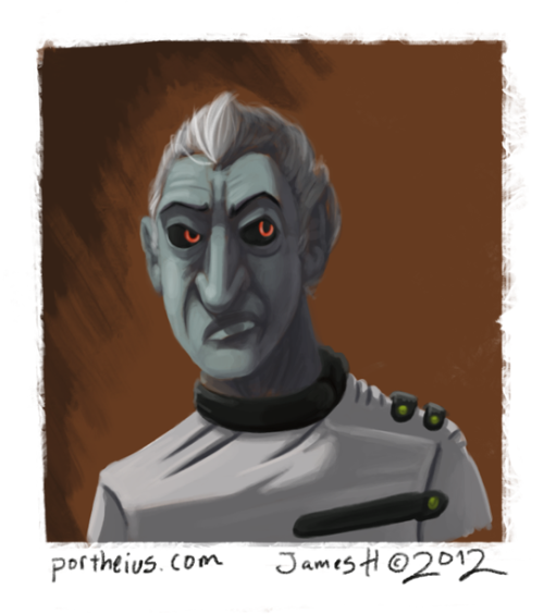 Painted Dr. Schtein from String Theory. That's all…