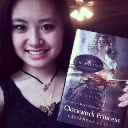 FINALLYYY!! #hebeldesign #clockworkprincess #infernaldevices #shadowhunters #cassandraclare