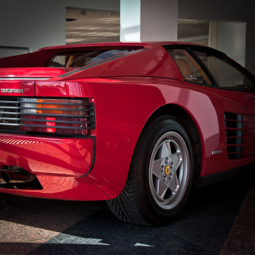 automotivated:  Ferrari testarossa (by pskrzypczynski)  #2013 Old sKOOL