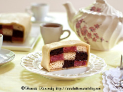 Neapolitan Battenberg by Bitter-Sweet- on Flickr.