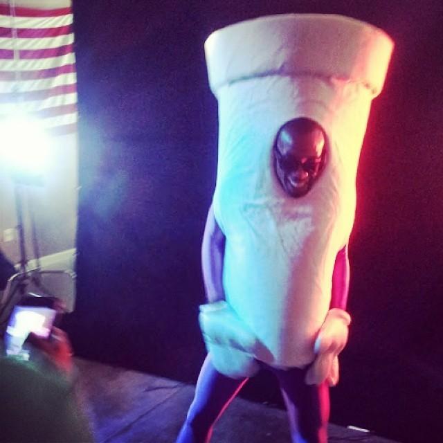 "Throwback Thursday at @jarrenbenton video shoot for ""Lean"" circa 2012."