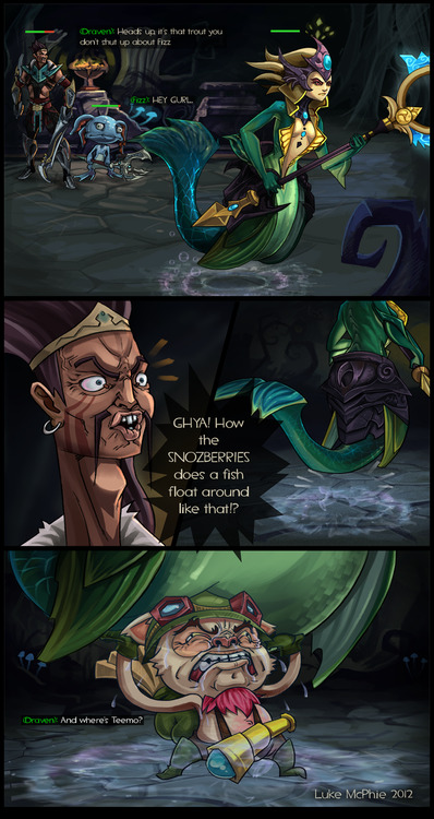 addictedtoleague:  thekawaiiod:  LoL comic 1 by ~lukebm lol wut?  what the fuck lol
