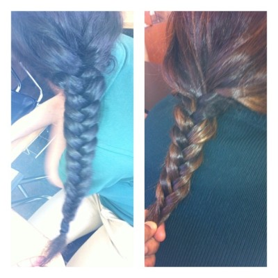 My #fishtail#fishtailing#hair#hairstyles@beauty#design#school#class#braid#blonde#longhairstyles via @frametastic