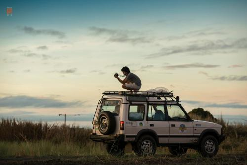 Roof racks are very useful when capturing that perfect shot. Photo by: Igor Maminta  A rare photo while I am at work! I'm really not used to seeing photos of myself. Haha.