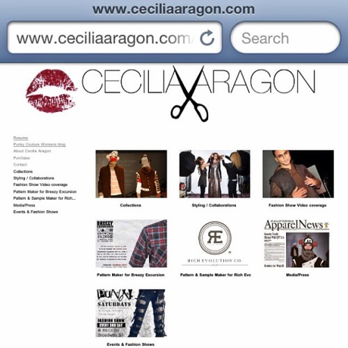 Www.CECILIAARAGON.com #fashion #designer #stylist #menswear #cutandsew #cacouture #womenswear #diy #punkycouture  (at CECILIAARAGON.com)
