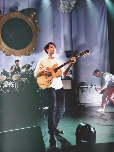 thefourthhaim:  3/4 of Vampire Weekend - Fillmore Theatre in Detroit May 17th, 2013