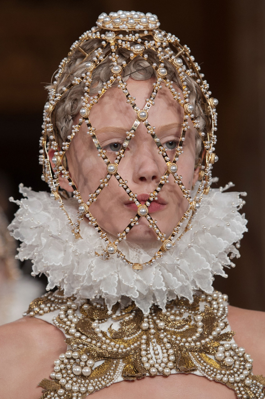 Frida at Alexander McQueen Fall Winter 2013 | PFW