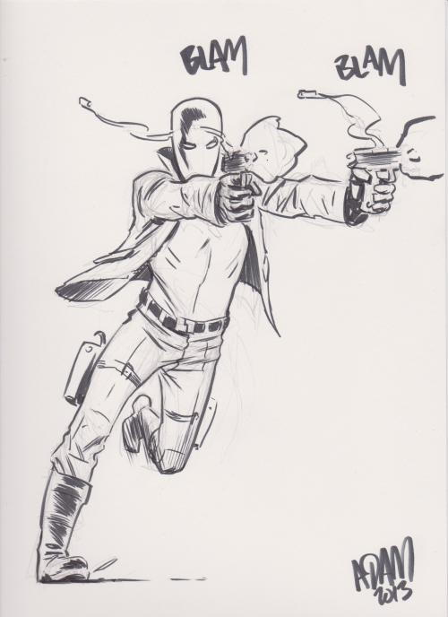 The Red Hood by Adam Gorham from the Stadium Comics Free Comic Book Day event.