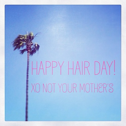 Happy Hair Day! #notyourmothers #hair #beauty #happiness