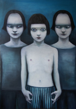 darksilenceinsuburbia:  Nadja Jovanovic. Playgraund. Oil on canvas.