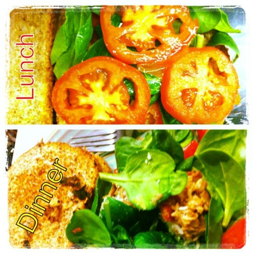 #picstitch #healthy and #cleaneating #Lunch and #Dinner ya'll