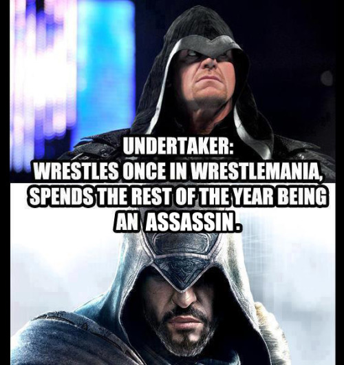 Assassin's Creed Undertaker. Sounds about right.