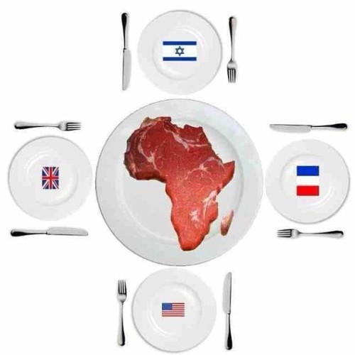 locheadbandit:  Everyone continues to eat off you #Afrika