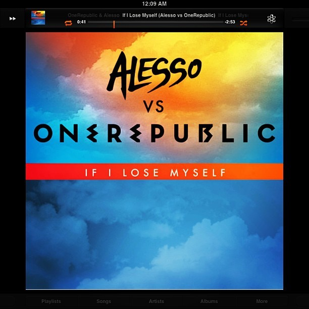 If I lose myself tonight, it'll be by your side #onerepublic #alesso #edm #pop #onrepeat