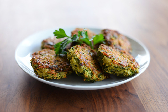 Baked Quinoa Patties (via Whisks and Whimsy)