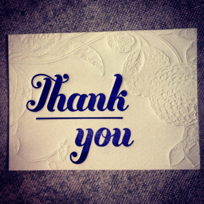 carrieleighdurand:  Mini thank you cards! Buy them at my etsy store