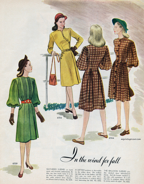 myvintagevogue:  McCall's July 1946