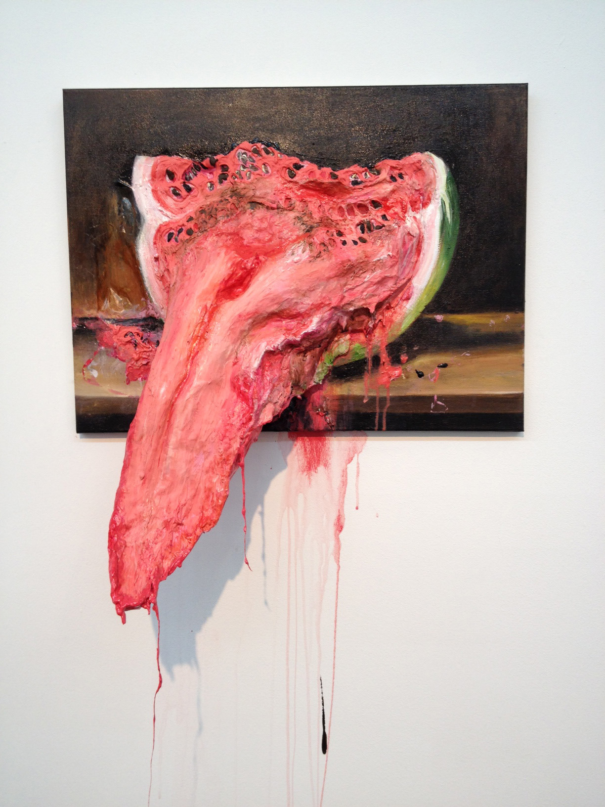 geotropics:  Valerie Hegarty, Watermelon Tongue