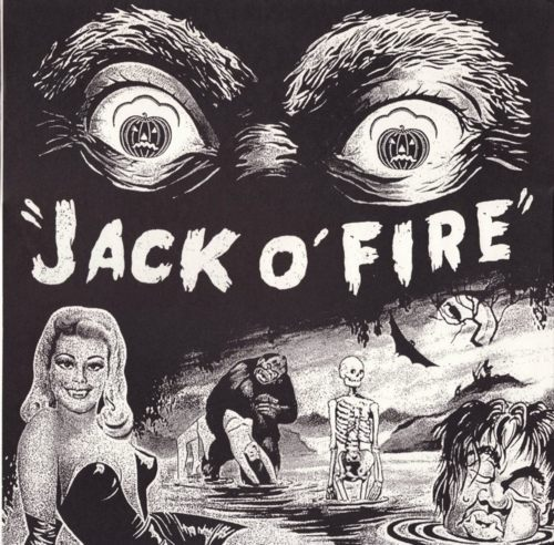 Jack O' Fire - Six Super Shock Soul Songs (1993) Art Chantry cover.