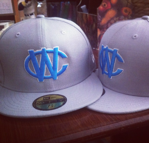 Check out these sweet hats for the California Warriors Blue, Gold, and White Teams! Huge props to New Era Hats for creating such a cool hat.  We can't wait for summer!!