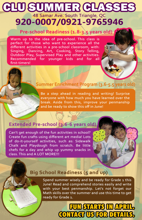 Keep your kids, siblings, nieces, and nephew busy this summer! :) contact us for more details! :)