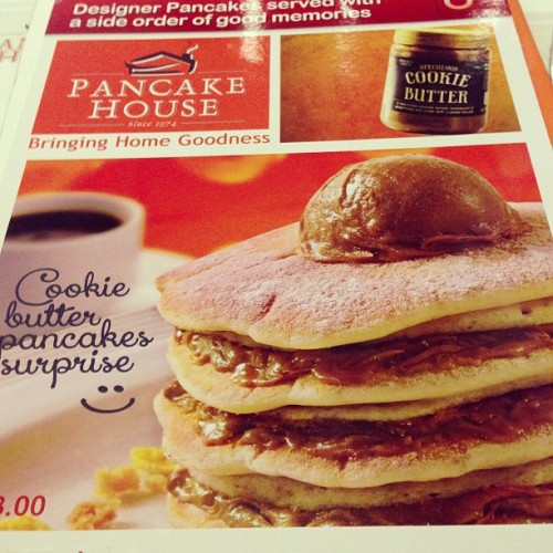 Pancake House hops on the cookie butter bandwagon.