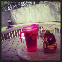 #pimms #jugs #homemade #lush #sun #bbq #love #yum #sun #rays #newquay #party