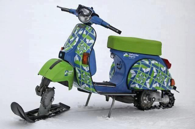 scooterculture:  ballisticlight:  If I were a scooter, I'd be this thing.  deadly!