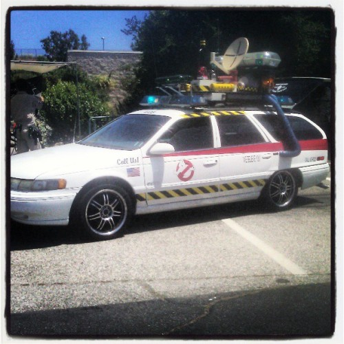 Who you gonna call? #Ghostbusters #ectomobile #ghosts #ecto-1