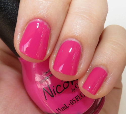 "Selena Gomez' ""Spring Break"" from her Nicole by OPI Nail Polish Collection!"