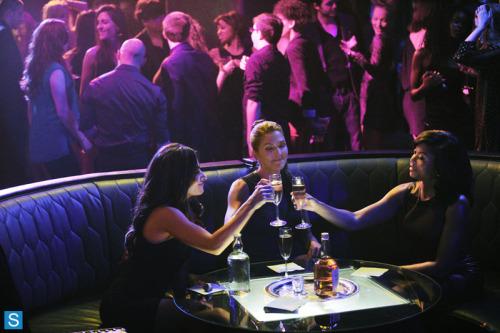 from SpoilerTV Person of Interest ~ 3.03 LadyKiller (L-R) Samantha Shaw, Zoe Morgan, Joss Carter