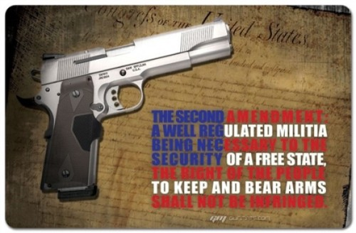 """…Shall not be infringed"""