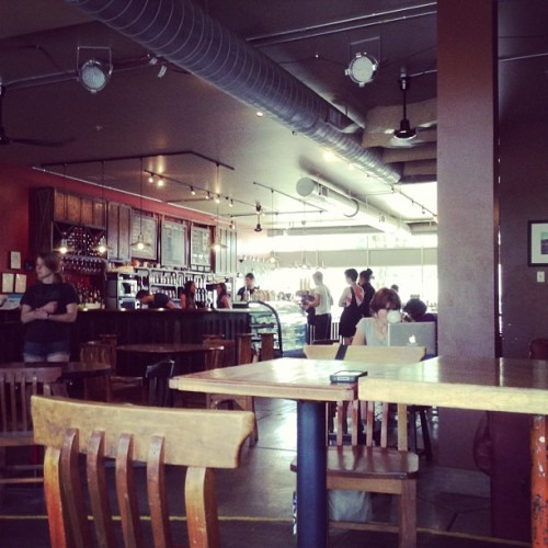 I always manage to find the locally owned café ☺ (at Slow Train Cafe)