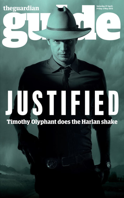 Justified: Timothy Olyphant on Elmore Leonard and the golden age of TV As marshal Raylan Givens - self-satisfied, unreliable, and cool in a cowboy hat - he's the undisputed star of Justified. So when will this show get the awards it deserves?