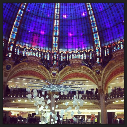 Galeries Lafayette #paris #france #europe  (at Galeries Lafayette)