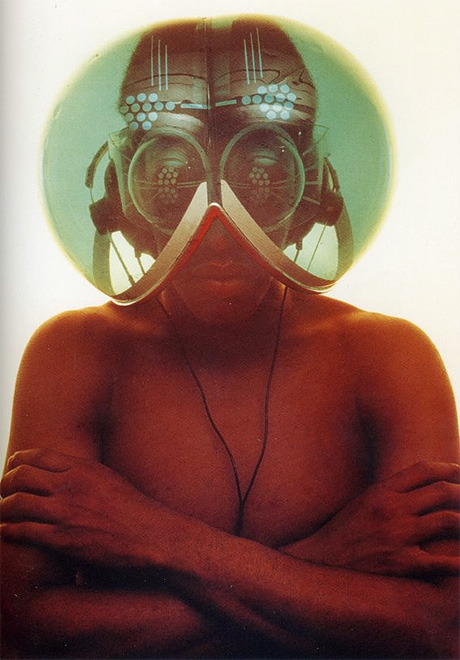 "1967-68:  Haus-Rucker-Co, Environmental Transformers ""Helmets to isolate the wearer from the outside world."""