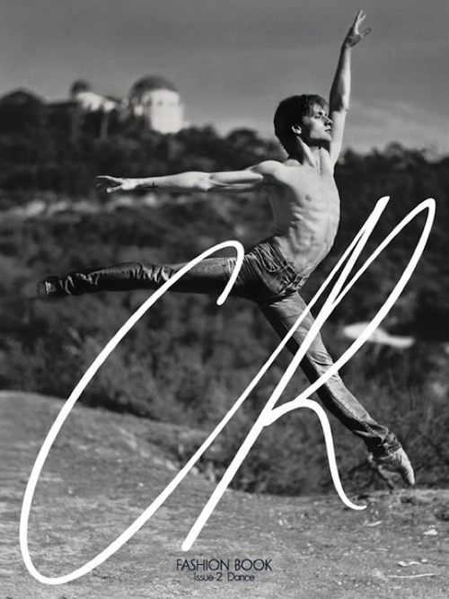 CR Fashion Book Issue 2 Dance Sergei Polunin photographed by Gus van Sant