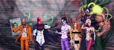 youngjusticer:  Crime Alley. Villains, by Scott.