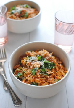 foodopia:  fire roasted tomato chicken pasta: recipe here
