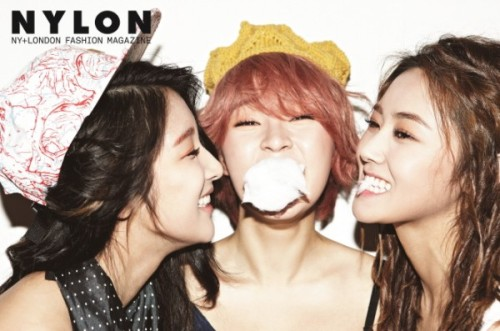 4Minute - NYLON Magazine Photos (2)