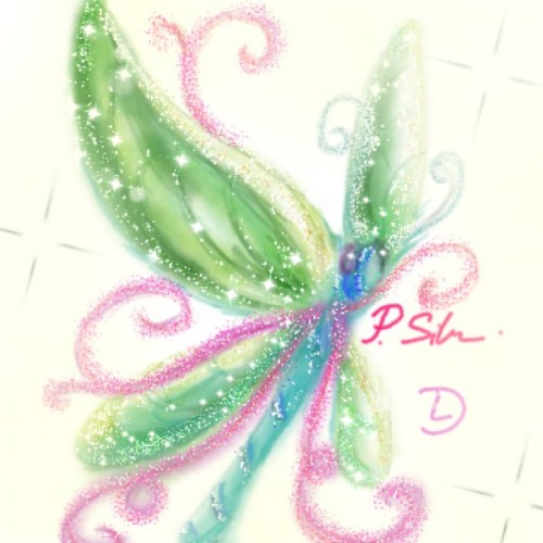 Dragonfly #DrawSomething #teamdli #drawsomething2 #ds2 #dragonfly #glitter #sparkly #loveit #ig #drawsomethingmasterpiece#art #iparindhidadraws #drawsomethingart #drawsomethingdesigns #handdrawnart #drawsomethingcool